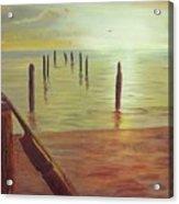 Cuatro Sunset Acrylic Print