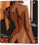 Cubism Series Xxiii Acrylic Print