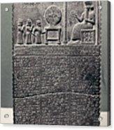 Cuneiform Acrylic Print