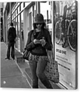 Cycle Chic Acrylic Print by Frank Winters