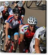 Cycle Racing Acrylic Print