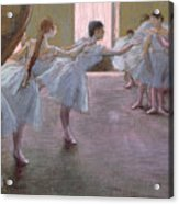 Dancers At Rehearsal Acrylic Print