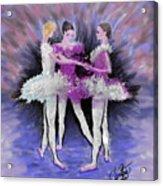 Dancing In A Circle Acrylic Print