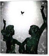Dancing Silhouettes Acrylic Print