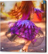Dancing To The Drums Acrylic Print