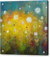 Dancing Wildflowers Series Acrylic Print