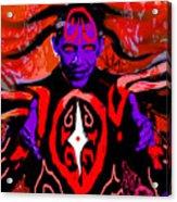 Dark Obamatar Acrylic Print