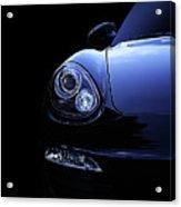 Dark Porsche Acrylic Print
