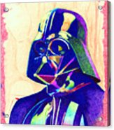 Darth Vader Acrylic Print by Kyle Willis