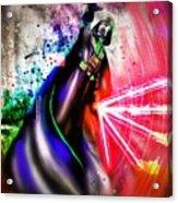 Darth Vader Sw Acrylic Print