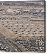 Davis-monthan Air Force Base Airplane Acrylic Print
