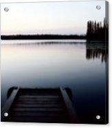 Dawn At Lynx Lake In Northern Saskatchewan Acrylic Print