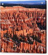 Dawn In Bryce Canyon Acrylic Print