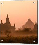 Dawn In Burma Acrylic Print
