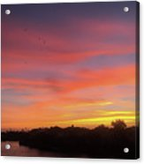 Colorful Dawn Of A New Day  Acrylic Print