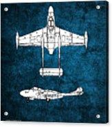 de Havilland Venom Acrylic Print
