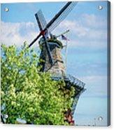 De Zwaan Windmill Acrylic Print