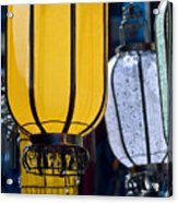 Decorative Lanterns Acrylic Print