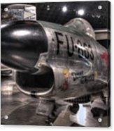 Dennis The Menace, North American, F-86d Sabre Acrylic Print