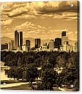 Denver Colorado Acrylic Print