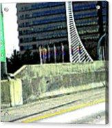 Denver Mile Marker Acrylic Print
