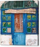 Derelict Greek Cafe-ouzeri Acrylic Print