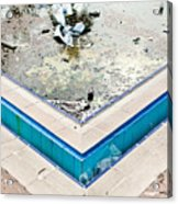Derelict Swimming Pool Acrylic Print