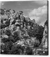 Desert Mountain Drive Acrylic Print