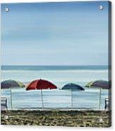 Deserted Beach. Acrylic Print