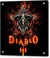 Diablo IIi Acrylic Print