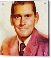 Dick York, Vintage Hollywood Actor Acrylic Print