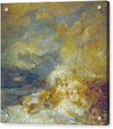 Disaster At Sea Acrylic Print