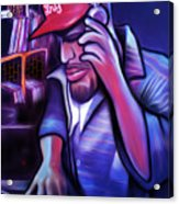 DJ Acrylic Print