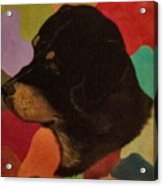 Dog In Art Acrylic Print