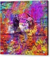 Dog Puppy Pet Animal Cute Canine  Acrylic Print
