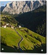 Dolomiti Landscape Acrylic Print