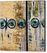 Door Number 17 In Mexico Acrylic Print