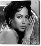 Dorothy Dandridge, Circa 1959 Acrylic Print by Everett