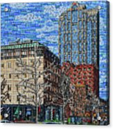 Downtown Raleigh - Fayetteville Street Acrylic Print