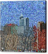 Downtown Raleigh - View From Chavis Park Acrylic Print