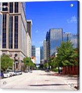 downtown Tampa FL, USA Acrylic Print