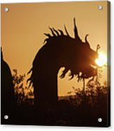 Dragon At Dawn Acrylic Print