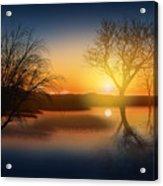 Dramatic Landscape Acrylic Print