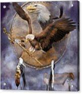Dream Catcher - Spirit Eagle 2 Acrylic Print