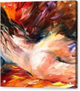 Dreams - Palette Knife Oil Painting On Canvas By Leonid Afremov Acrylic Print