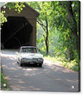 Driving In Style Acrylic Print