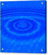 Drop Of Blue Acrylic Print