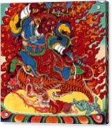 Dudjom's Dorje Drollo Acrylic Print