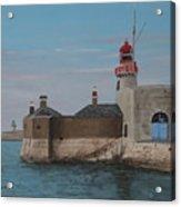 Dun Laoghaire Lighthouse Acrylic Print