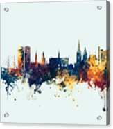 Dundee Scotland Skyline Acrylic Print